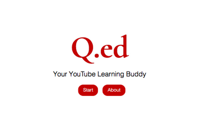 Q.ed - Your YouTube Learning Buddy
