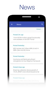 CAclubindia- Tax and Query App- screenshot thumbnail