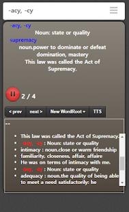 English etymology wordlist - náhled