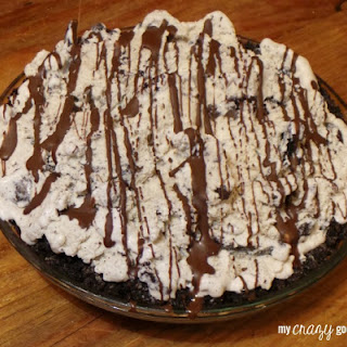 Cookies and Cream Ice Cream Pie