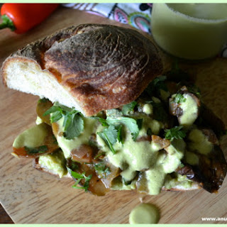Mexican-Spiced Roasted Vegetable Sandwich