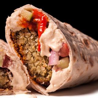 Falafel Lavash Wraps
