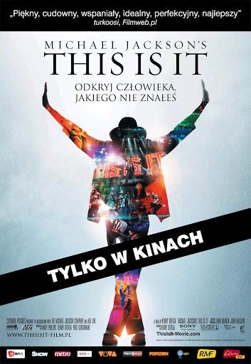 Polski plakat filmu 'This Is It'
