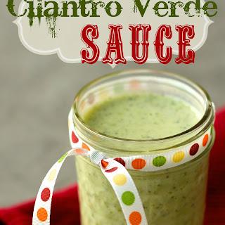 Cilantro Verde Sauce