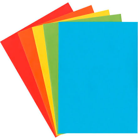 Kuvert mix färg C5 20st/fp