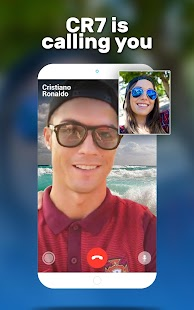 Video Call from Cristiano Ronaldo - náhled