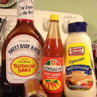 Spicy BBQ Mayo Sauce.