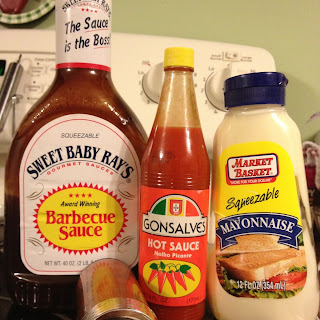 Spicy BBQ Mayo Sauce.