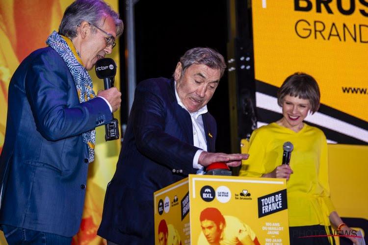 Ronde van Frankrijk gaat Atomium en Eddy Merckx eren met speciale 'maillot jaune'