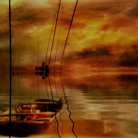 Tiang tiang pancing by Sjamsul Rizal - Digital Art Places