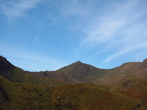 Photo: Snowdon on another stunning day