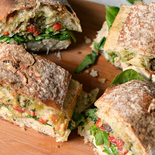 Chicken Artichoke Ciabatta Sandwich Recipe