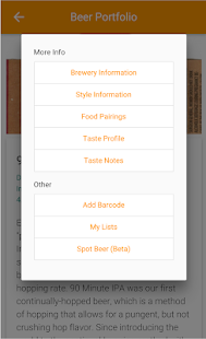 Beer Portfolio Pro- screenshot thumbnail