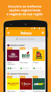 Velivery: Delivery Vegetariano- screenshot thumbnail