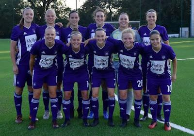 Les filles d'Anderlecht jettent un regard sur leur aventure en Ligue des Champions