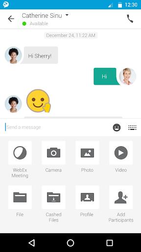 Cisco Jabber screenshot 6