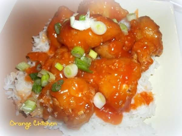 ~ Orange Chicken ~ Recipe