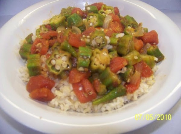 Southern Okra And Tomatoes Recipe