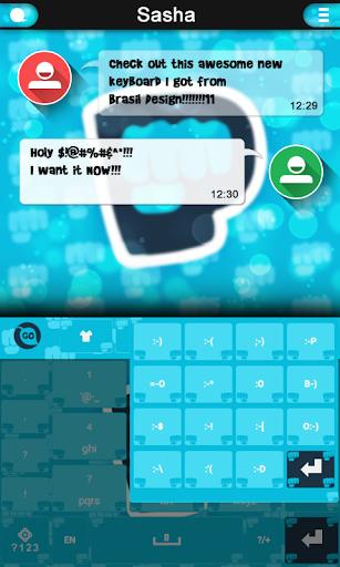 Pewdiepie Keyboard theme screenshot 1