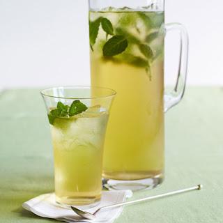 Minty Iced Green Tea.
