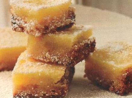 Martha's Key Lime Squares Recipe
