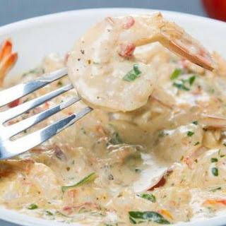 Creamy Garlic Butter Tuscan Shrimp.