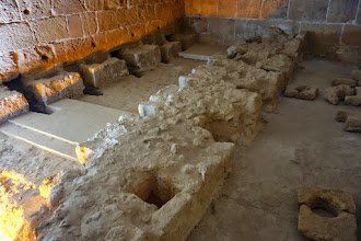 Photo: The latrine for the Knights. Written records state it was a horrible place.