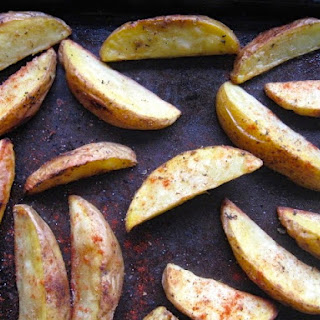 Cumin Roasted Potatoes.