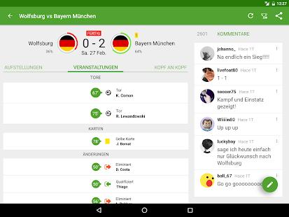 fußballergebnisse app