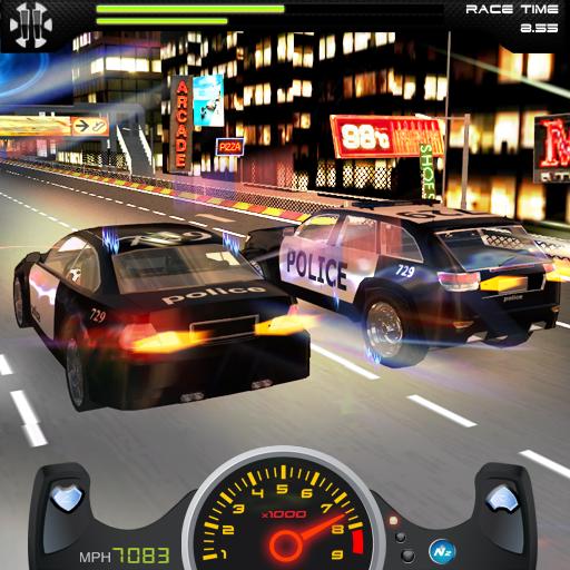 警察追逐汽車 LOGO-APP點子