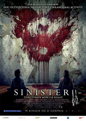 Przód ulotki filmu 'Sinister 2'