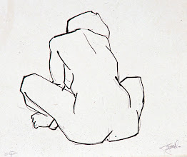 "Photo: ""Seated Gesture"" (serigraph)"