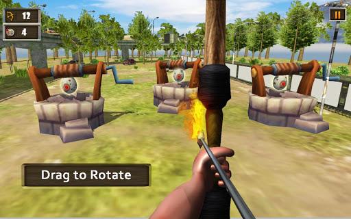 Télécharger Crazy Chicken Shooting Game : Archery Killing mod apk screenshots 5
