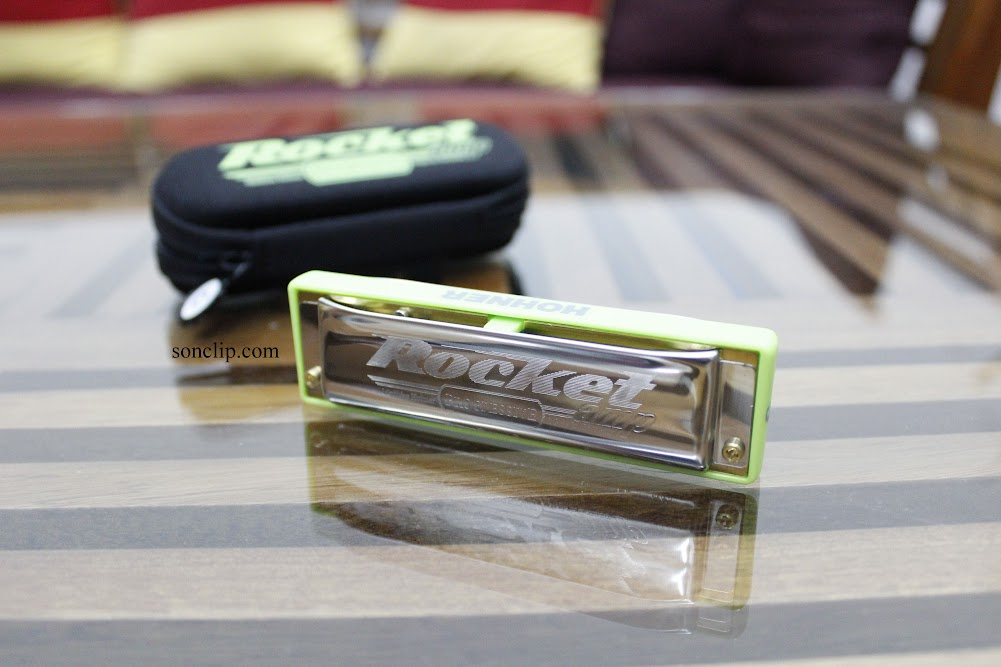 Kèn Harmonica - Hohner Rocket AMP (key C)