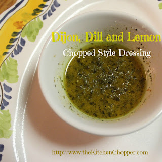 Dijon, Dill and Lemon Chopped Style Dressing