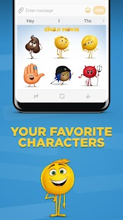 The Emoji Movie Stickers- screenshot thumbnail