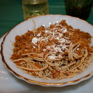 Sicilian Spaghetti with Breadcrumbs