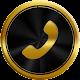 الذهب الهاتف التوقف