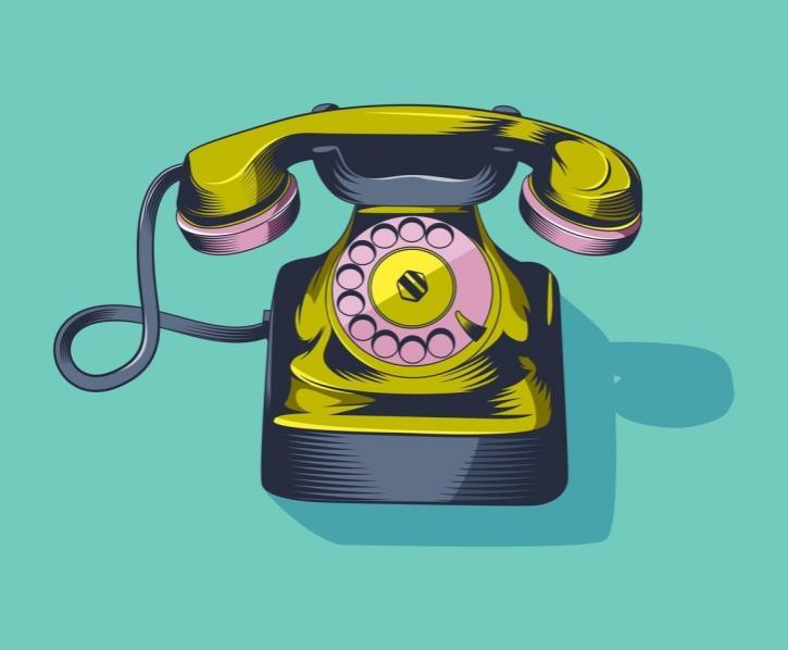 Unique Rotary Telephone