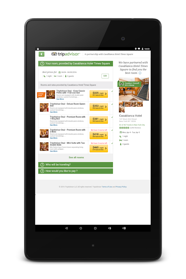 TripAdvisor Hotels Restaurants- screenshot
