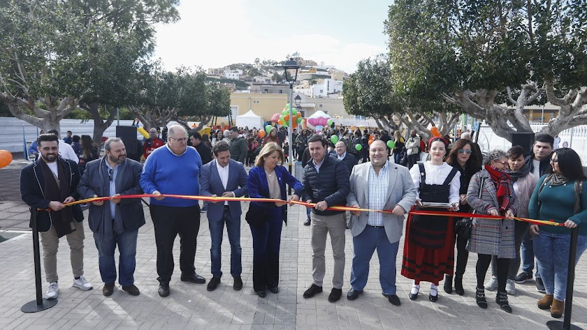 Inauguración del nuevo Parque de las Familias de Gádor.