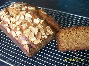Almond and honey cake.