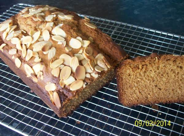 Almond And Honey Cake. Recipe