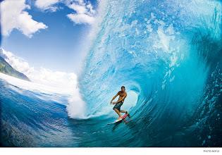 Photo: Jamie O'Brien, Tahiti. Photo: Noyle #surferphotos