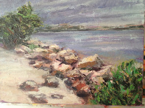 Photo: Painting by Dale Gary / By the Boynton Inlet