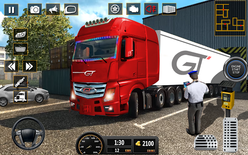 Truck Parking 2020: Prado Parking Simulator apklade screenshots 1