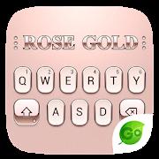 App Rose Gold 2018 GO Keyboard Theme APK for Windows Phone