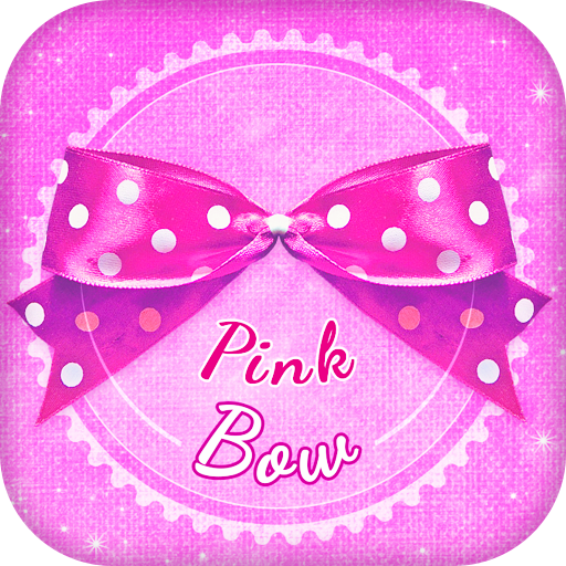 Pink Bow Live Wallpaper for Girls