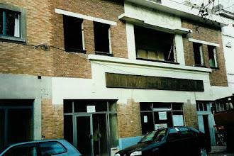 Photo: dit gebouw stond er voor dat de bouw begon