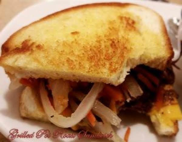 ~ My Grilled Pot Roast Sandwich ~